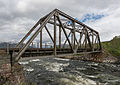 Nordlandsbanen Bridge Crossing Fusta River, Vefsn, Southeast view 20150607 1.jpg