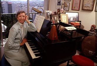 Norma Teagarden - Teagarden at her home in San Francisco, 1989