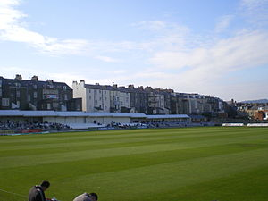 North Marine Road Ground, Scarborough - Image: North Marine Road trafalgar square end