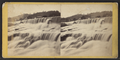 North portion, 2nd Mill Dam Falls, from Robert N. Dennis collection of stereoscopic views.png