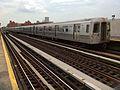 Northbound R68 N train leaves 39 Av.jpg