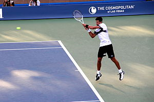 Novak Djokovic - Djokovic at the 2010 US Open