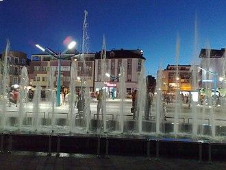 Bosanska Krajina - Image: Novi trg Bihac