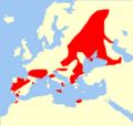 Nyctalus lasiopterus range Map.png