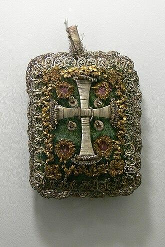 Talisman - Christian talisman (Breverl), 18th century