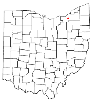 Garfield Heights, Ohio - Location of Garfield Heights in Ohio