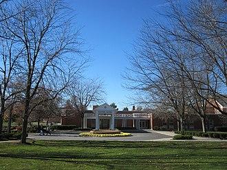 Ohio Northern University - McIntosh Center, the Student Center of Ohio Northern University.