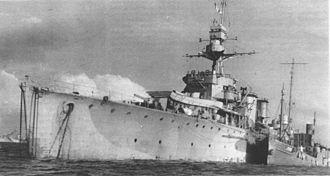 Danae-class cruiser - ORP Dragon, previously HMS Dragon