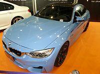 OSAKA AUTO MESSE 2015 (321) - BMW M4 Coupé (F82) with FOCAL audio.JPG