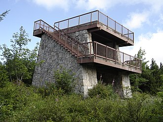 Spruce Knob - The lookout tower atop Spruce Knob