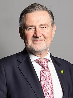 Barry Gardiner British Labour politician