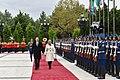 Official welcoming ceremony was held for Croatian President Kolinda Grabar-Kitarovic 12.jpg