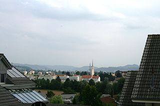 Oftringen Municipality in Switzerland in Aargau