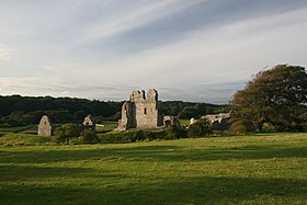 Image illustrative de l'article Château d'Ogmore