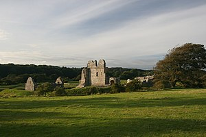 Ogmore Castle - Ogmore Castle and grounds