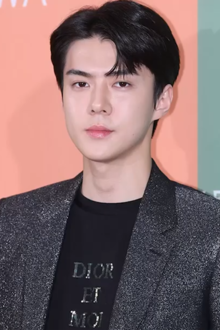 Oh Se-hun at Rimowa Essential Poly Color Collection Launch on July 5, 2019.png