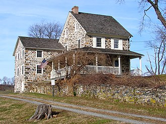 Willistown Township, Chester County, Pennsylvania - Okehocking Historic District