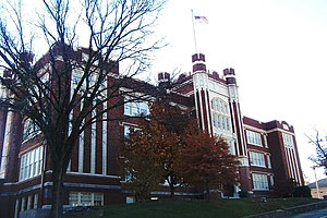 Hot Springs High School (Arkansas) - Historic Hot Springs High School
