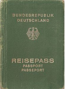 German passport wikipedia issuing processedit ccuart Images