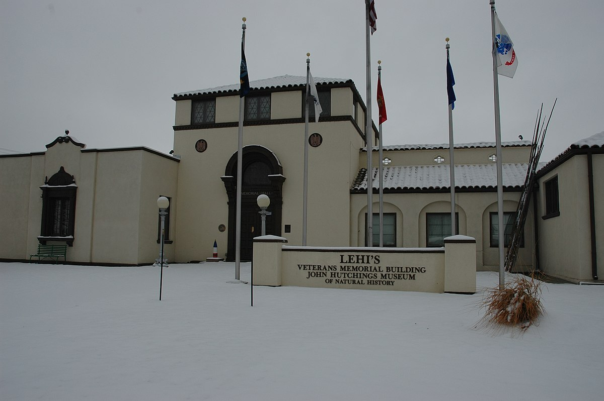 Foyer Museum Utah : Lehi city hall wikipedia