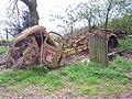 Old Petrol Tanker, near Grendon Court - geograph.org.uk - 161814.jpg