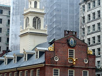 Financial District, Boston - Old State House