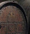 Old wine cask with German inscription in Musée d'Unterlinden, Colmar.jpg