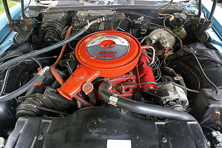 An Early 1968 Red Painted Rocket 455 In A Delmont 88