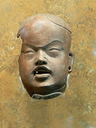 Olmec alternative origin speculations - Head of an Olmec baby figurine. Gordon Ekholm, who was an archaeologist and curator at the American Museum of Natural History, suggested that the Olmec art style might have originated in Bronze Age China.