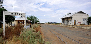 Basic income - Omitara, one of the two poor villages in Namibia where a local basic income was tested in 2008-2009.