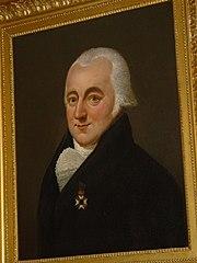 Portret van Cornelis Overgaauw Pennis (Delft 1765 - Delft 1843)