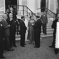 Op Paleis Soestdijk heeft koning Juliana woensdagavond de RTC delegatie ontvang…, Bestanddeelnr 906-4871.jpg