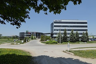 OpenText - Opentext's head quarters in Waterloo, Ontario, Canada