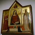 Opera del duomo (FI), bernardo daddi, madonna del parto con santi.JPG