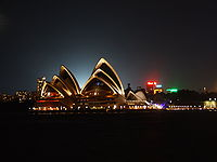 The Sydney Opera House is a key feature of Sydney's skyline