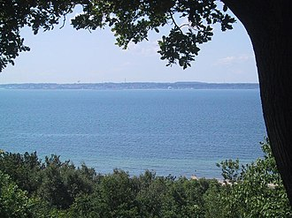 Danish straits - The Øresund, seen from Helsingborg