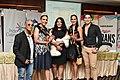 Organizaciones LGBT en Sesión Solemne del Orgullo Guayaquil - Fernando Orozco (Años Dorados) - Reina de la Comunidad 2021 - Diane Rodríguez - Miss Ecuador Trans Universe y Mario Fernando Pérez.jpg