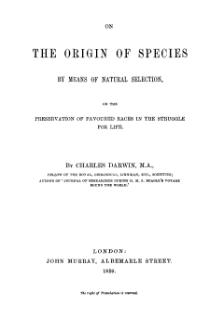 Origin of Species 1859 facsimile.djvu