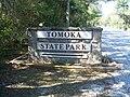 Ormond Beach FL Tomoka SP sign01.jpg