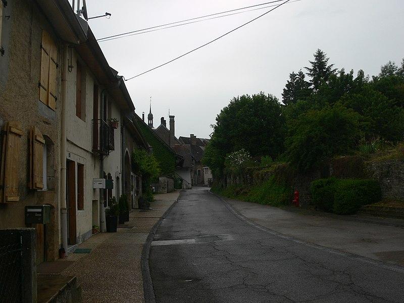 Ornans - rue du Champliman