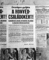 Országos gyűjtés kormányzó urunk hitvesének felhívására, 1943 Poster Fortepan 72020.jpg