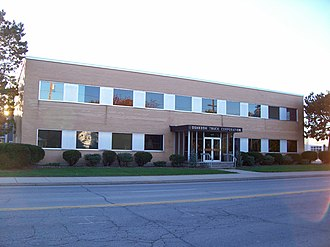 Oshkosh Corporation - Oshkosh global headquarters in Oshkosh, Wisconsin, USA