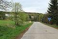 Ostředek, road to Sázava and Divišov.jpg
