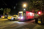 Out of service train at Duboce and Noe, October 2018.JPG