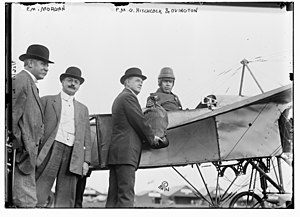 Earle Ovington - Edward M. Morgan, Frank Harris Hitchcock, and Earle Lewis Ovington