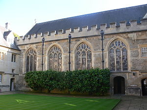 Lincoln College, Oxford - Chapel quad
