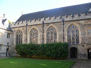 Lincoln College, Oxford - Chapel quad