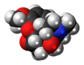 Oxycodone molecule spacefill.png