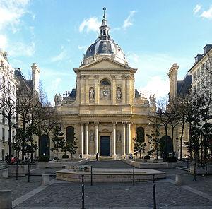 Sorbonne - Chapel of Sainte Ursule.