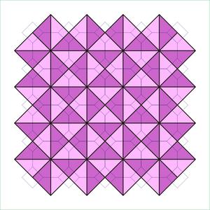 Tetrakis square tiling - Image: P1 dual